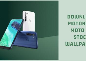 Motorola Moto G8 Stock Wallpapers