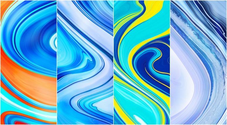Redmi Note 9 Pro Max Stock Walls Screens