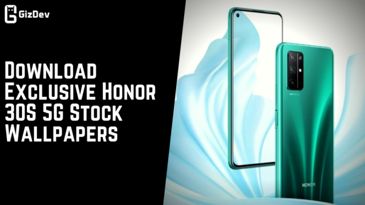 Download Exclusive Honor 30S 5G Stock Wallpapers