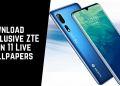 ZTE Axon 11 Live Wallpapers