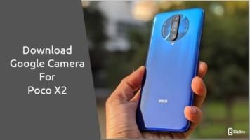 Google Camera for Poco X2