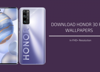 Honor 30 Pro Stock Wallpapers