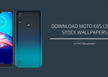 Moto E6s (2020) Stock Wallpapers
