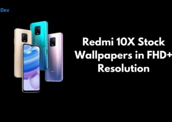 Redmi 10X Stock Wallpapers
