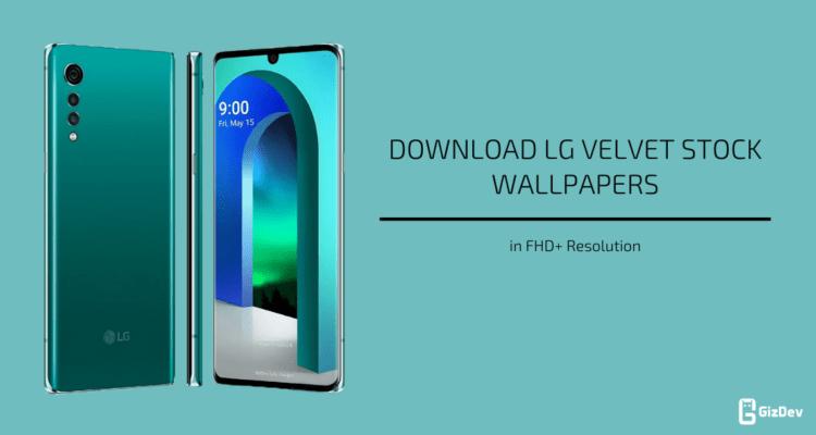 LG Velvet Stock Wallpapers