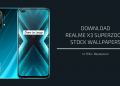 Realme X3 SuperZoom Stock Wallpapers
