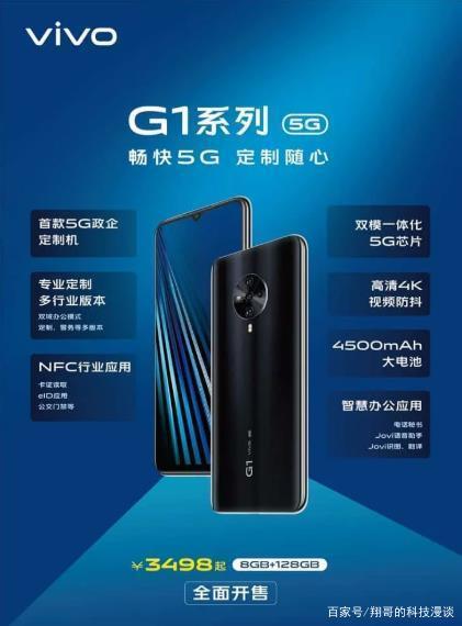 Vivo G1 5G Specifications