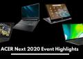Acer Next 2020 Event Highlights
