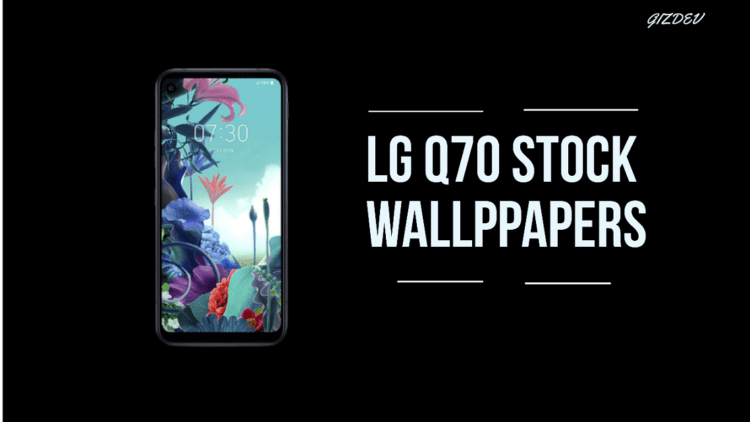LG Q70 Stock Wallpapers