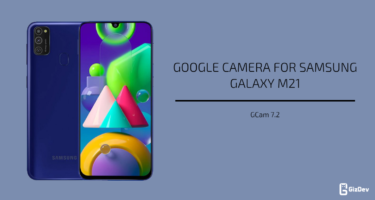 Google Camera For Samsung Galaxy M21