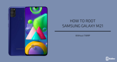 Root Samsung Galaxy M21