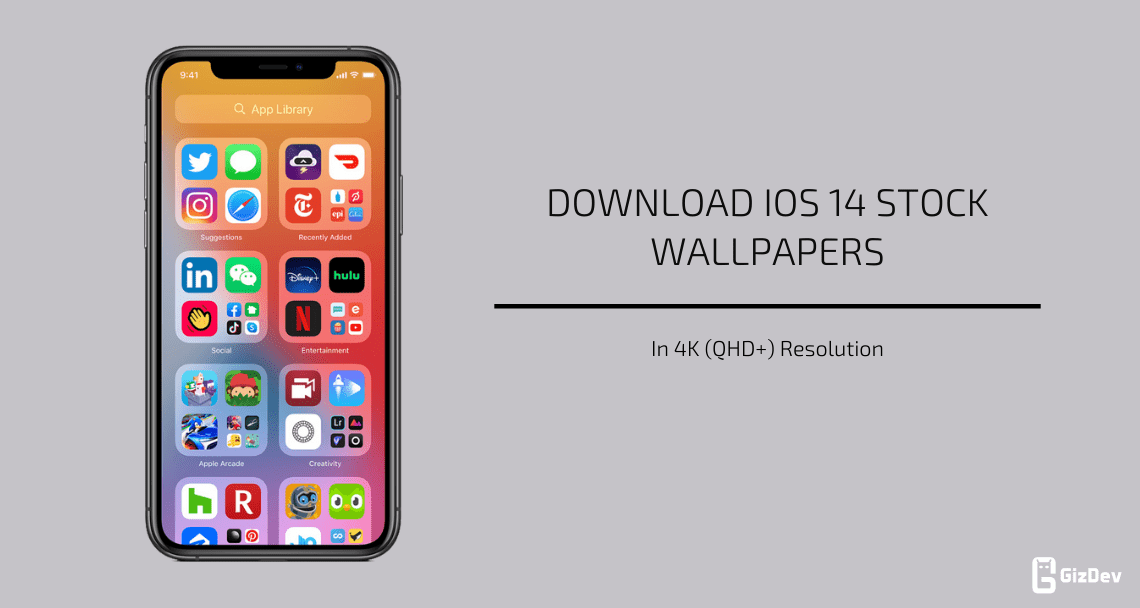 Download Ios 14 Stock Wallpapers In 4k Resolution