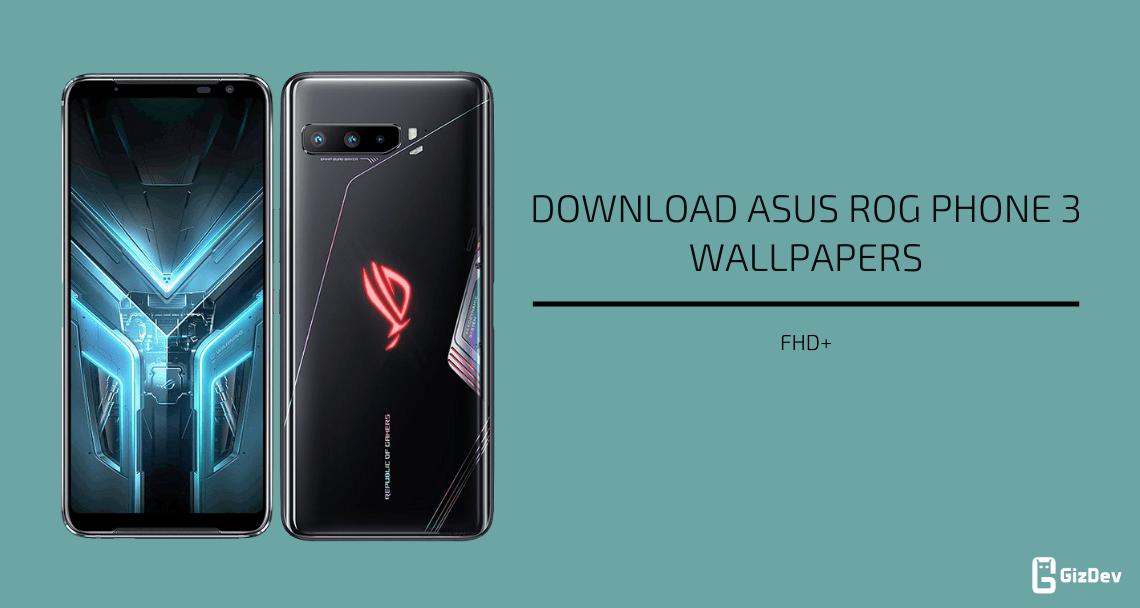 Asus ROG Phone 3 Stock Wallpapers