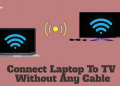 Connect Laptop To TV