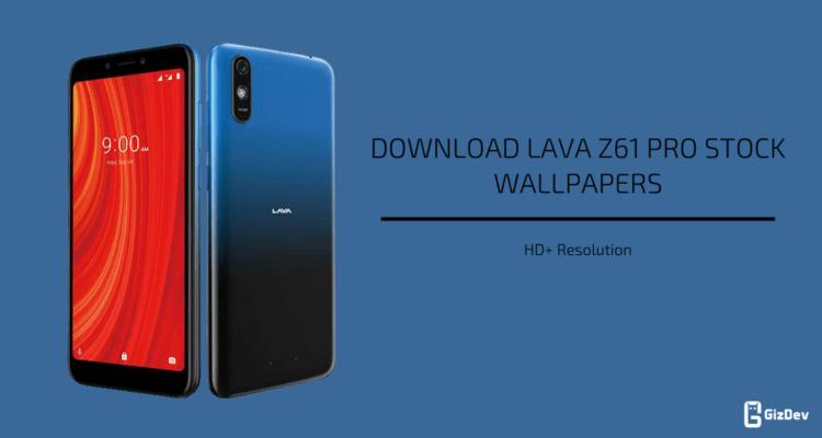 Lava Z61 Pro Stock Wallpapers