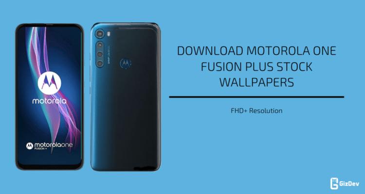 Motorola One Fusion (Plus) Stock Wallpapers