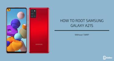 Root Samsung Galaxy A21s