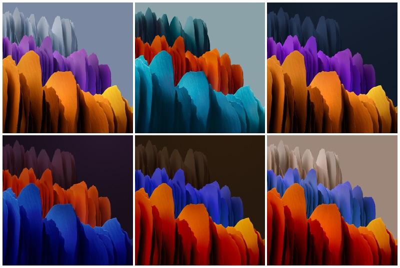 Samsung Galaxy Tab S7+ Wallpapers