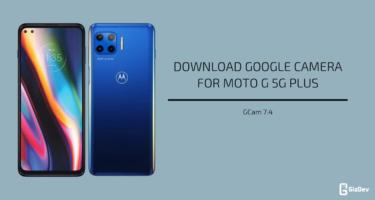 Google Camera 7.4 for Moto G 5G Plus