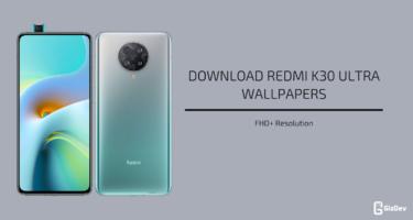 Redmi K30 Ultra Stock Wallpapers