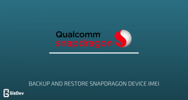 Backup Restore and Repair Snapdragon IMEI