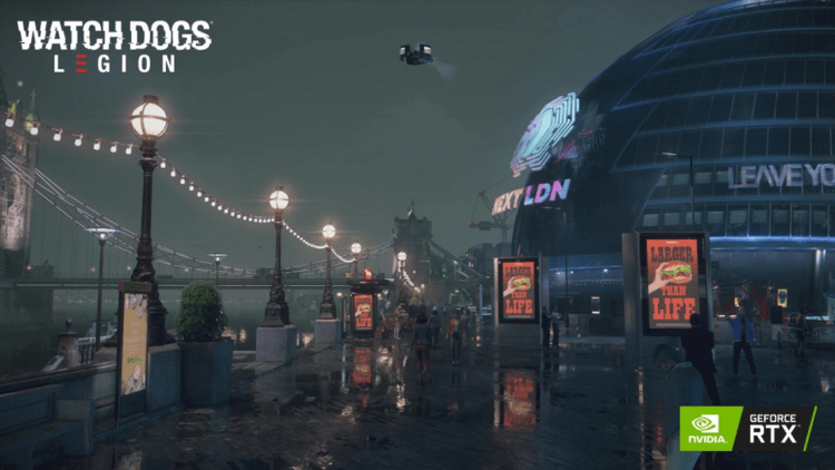 Get Watch Dogs legion Free On Nvidia RTX 30 Series Graphic Cards
