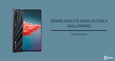 ZTE Axon 20 Stock Wallpapers