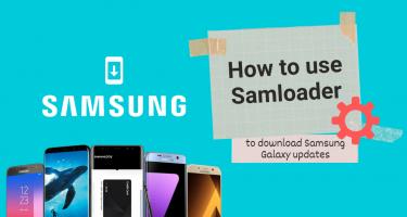 How to download Samsung Galaxy updates using Samloader